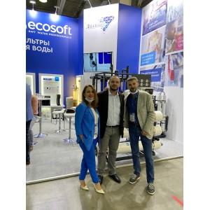 Успешно завершилась 15-я международная выставка Экватэк 2021 «вода: экология и технология»!